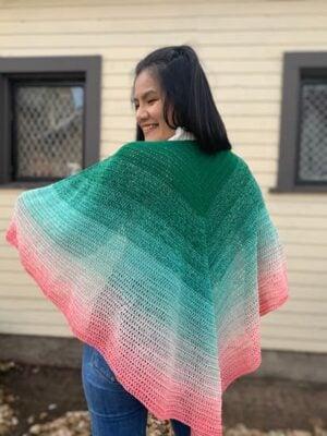 Easy Crochet Shawl by KnitcroAddict