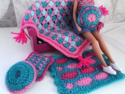 Moroccan Vibes Doll House Accessories by Memory Lane Crochet