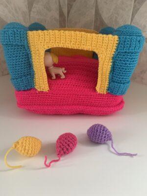 Bouncy Castle Toy by Memory Lane Crochet