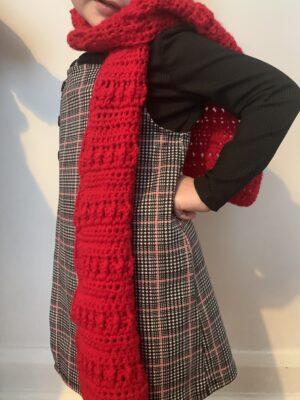 Winter Kids Scarf by Memory Lane Crochet