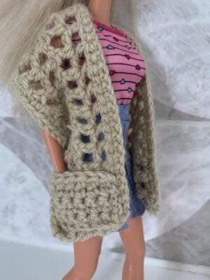 Fashion Doll Pocket Shawl by Memory Lane Crochet