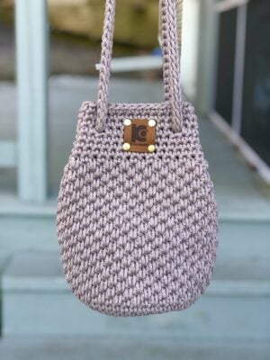 Crochet Shoulder Bag by KnitcroAddict