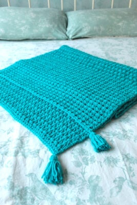 Valentina Bed Runner by Veronika Cromwell from Blue Star Crochet