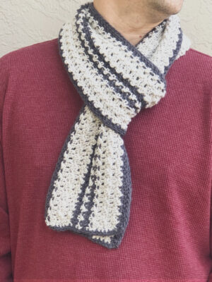 Verso Scarf by ChristaCoDesign
