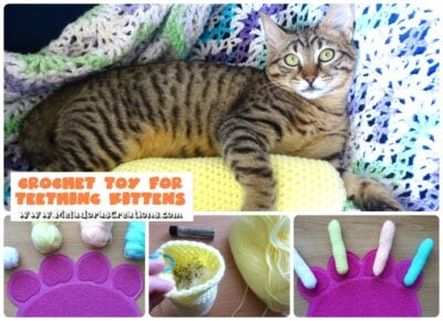 Cat Toy for Teething Kittens by Candy Lifshes from Meladora's Creations