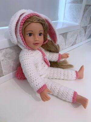 Bunny Dolls Onesie by Rose Hudd from Memory Lane Crochet