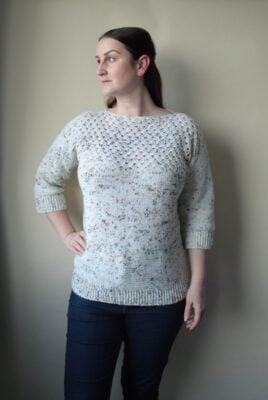 Hawberry Sweater by Veronika Cromwell from Blue Star Crochet