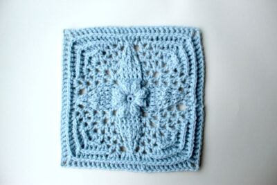 Friendship Star Granny Square by Veronika Cromwell from Blue Star Crochet