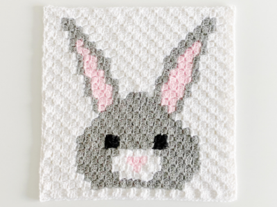 c2c Bunny by Melissa Hassler from Lovable Loops