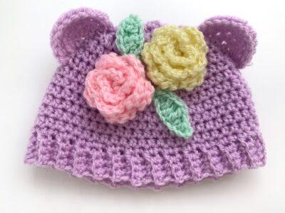 Cutie Bear Doll Hat by Rose Hudd from Memory Lane Crochet