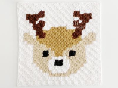 c2c Deer by Melissa Hassler from Lovable Loops