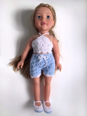 Summer Dolls Clothes by Rose Hudd from Memory Lane Crochet