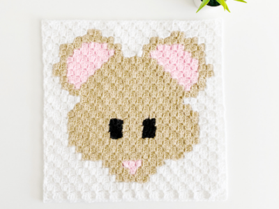 c2c Mouse by Melissa Hassler from Lovable Loops