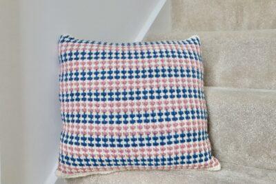 Modwen Cushion by Miroslava Mihalkova from Exquisite Crochet UK