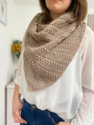 Richmond Shawl by Hannah Cross from HanJan Crochet