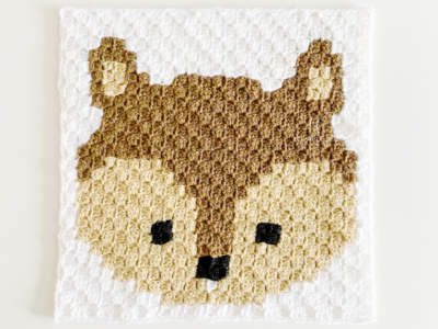 c2c Squirrel by Melissa Hassler from Lovable Loops