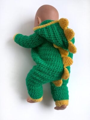 Dinosaur Dolls Onesie by Rose Hudd from Memory Lane Crochet