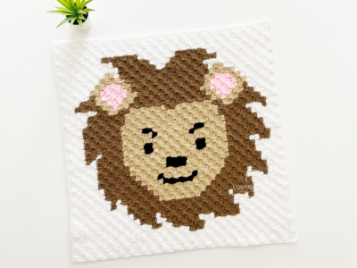 c2c Lion by Melissa Hassler from Lovable Loops
