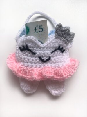 Tooth Fairy Bag by Rose Hudd from Memory Lane Crochet