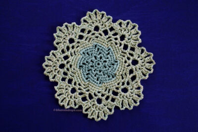 Little Bitty Round Doily by blueraindrops