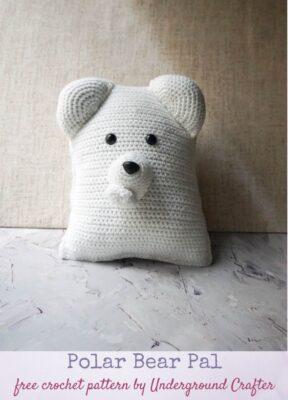 Polar Bear Pal by Marie Segares/Underground Crafter