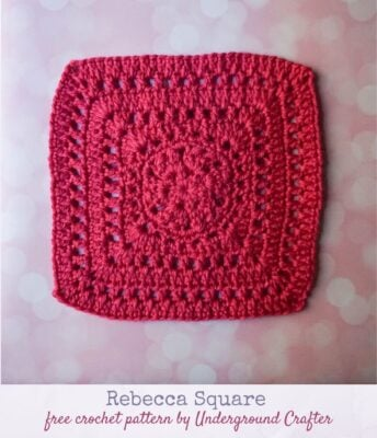 Rebecca Square by Marie Segares/Underground Crafter