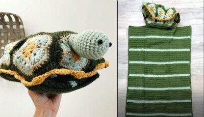Benjamin Turtle Nap Buddy by Lisa Ferrel/My Fingers Fly