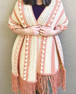 Sorrento Shawl by Crystal from ChristaCoDesign