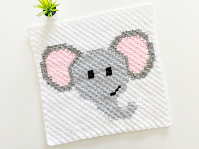 c2c Elephant by Melissa Hassler from Lovable Loops