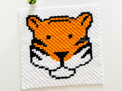 c2c Tiger by Melissa Hassler from Lovable Loops