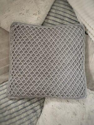 Diamond Stitch Cushion by Rose Hudd from Memory Lane Crochet