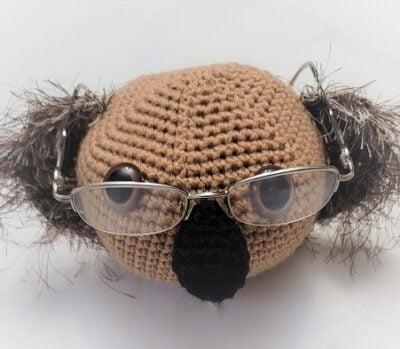 Koala Eyeglass Holder by Lisa Ferrel/My Fingers Fly