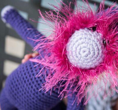 Bearded Monkey Amigurumi by Lisa Ferrel/My Fingers Fly