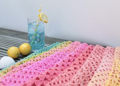 6 Weeks of Summer Shawl Crochet Along by Veronika Cromwell from Blue Star Crochet