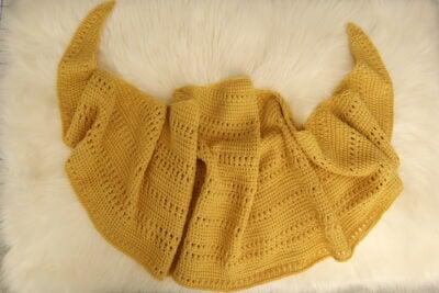 Missing Holiday Sun Shawl by Miroslava Mihalkova from Exquisite Crochet UK