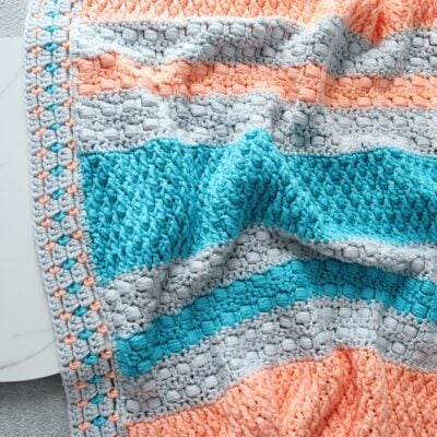 Zohal Baby Blanket by Miroslava Mihalkova from Exquisite Crochet UK.