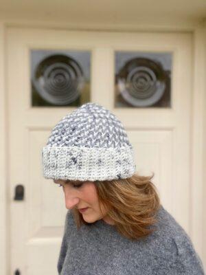 Walcot Beanie by Hannah Cross from HanJan Crochet.
