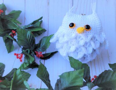 Owl Ornament by Lisa Ferrel/My Fingers Fly.