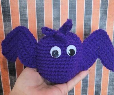 Bat Trick or Treat Bag by Lisa Ferrel/My Fingers Fly.